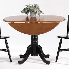 Pedestal Kitchen Table And Chairs - amesbury chair farmhouse and traditional windsor drop leaf