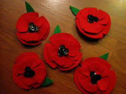 make your own armistice day poppy pin grad cool