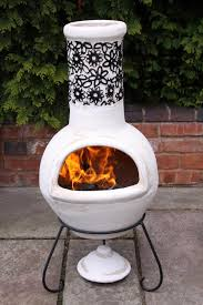 Red Clay Chiminea Clay Chiminea Barbecuing U0026 Outdoor Heating Ebay