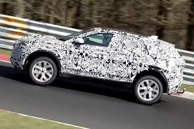 new cars launching 2017 jaguar e pace tests on the nurburgring ahead of summer launch