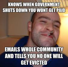 Shut Down Meme - how did reddit react to the government shutdown with memes of