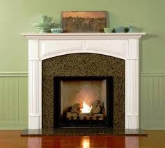wood fireplace mantels decor