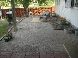 ideas gravel flower bed pea gravel cost gravel patio