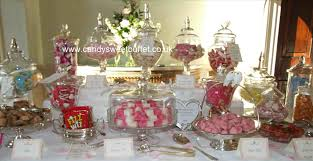 wedding candy table is a website where you can buy the letter dishes sweet here