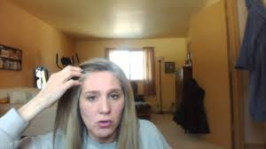 how to bring out gray in hair growing out gray hair youtube