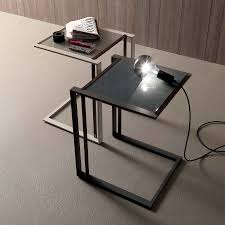 Modern Sofa Table by Living Room Contemporary Sofa Side Table Slide Under Create Your