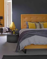Best Grey Interiors With A Pop Of Colour Images On Pinterest - Grey and yellow bedroom designs