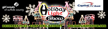 scout light show for 12th annual holiday light show in bayport from showclix