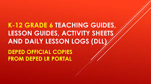 official deped copy new k 12 grade 6 teacher u0027s guides dll