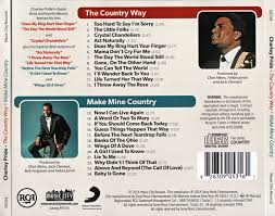 Crystal Chandeliers Charlie Pride Charley Pride The Country Way 1967 Make Mine Country 1968