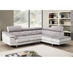 canapé cuir et tissu canapé d angle cuir et tissu royal sofa idée de canapé et meuble