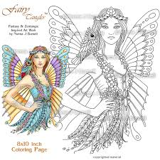 fairy tangles a few new fairy tangles coloring pages for your