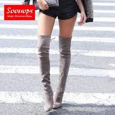 womens thigh high boots size 11 get cheap suede thigh high boots size 11 aliexpress com