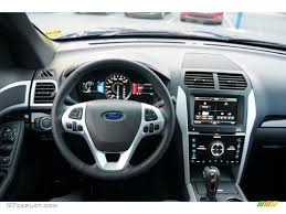 Ford Explorer 2013 - 2013 ford explorer limited 4wd pecan charcoal black dashboard