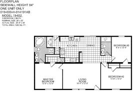 two bedroom two bath house plans small 3 bedroom 2bath house plan titan avenger model 652 moores