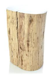 trunk style bedside tables furniture side table tree stump tables image of coffee plans trunk