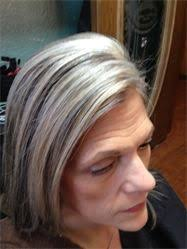 pictures of grey hair with lowlights classy cut and blonde color with honey lowlights to blend grey
