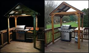 Build Your Own Backyard by Build Your Own Backyard Grill Gazebo
