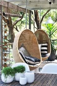 Enclosed Egg Chair 33 Awesome Outdoor Hanging Chairs Digsdigs My Tropical Dream