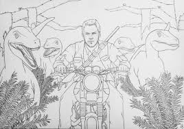 10 images of owen jurassic world coloring pages jurassic world