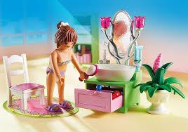 chambre bébé playmobil playmobil 5307 salle de bains et baignoire amazon fr jeux et