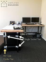 Good Computer Desk by 318 Best Pipe Desks Images On Pinterest Pipe Desk Desk Plans