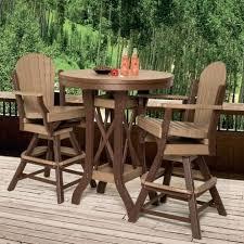Narrow Outdoor Bar Table Bar Stool Long Narrow High Top Metal Wood Combo Outdoor Bar