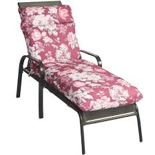 lounge chair cushion 18 cabana stripe outdoor lounge chair cushion