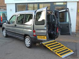 used peugeot partner origin combi 14 disabled wheelchair adapted