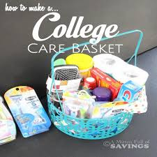 gift baskets for college students how to make a college care basket
