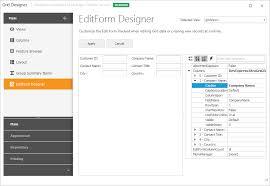 devexpress layout control video editform designer data grid winforms controls devexpress help