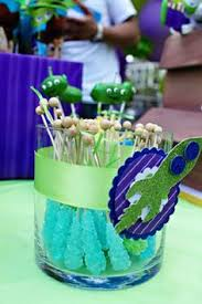 Buzz Lightyear Centerpieces by Toy Story Birthday Party Ideas Toy Story Birthday