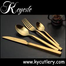 Black Cutlery Set Brass Cutlery Wedding Copper Cutlery Black Flatware Set Buy High