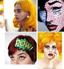 Pop Art Halloween Costume 112 Costume Pop Art Images Halloween Makeup