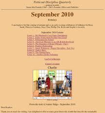 petticoat disciple quarterly castre 0910cov jpg