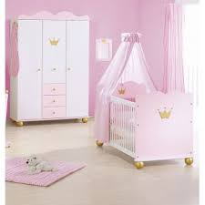 chambre bébé princesse lit bébé armoire 3 portes princesse caroline bambins déco