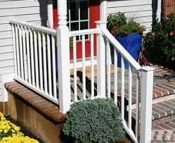 vinyl stair railing kits unique shaped decoration fence pvc stair