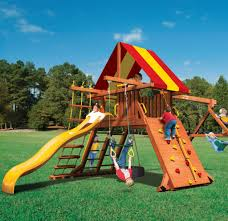 lion u0027s den wood swing set by childlife playsets playsets pinterest