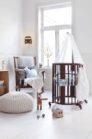 bedroom round cribs for comfortable baby bedroom decor with white