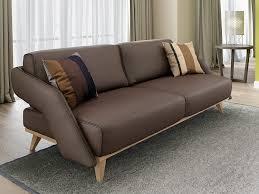 ledersofas mit funktion designer ledersofa zweisitzer leder couchgarnitur holz buche