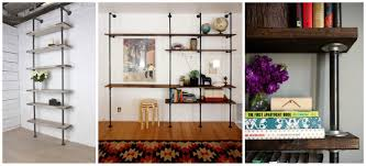 loving the galvanized plumbing pipe bookshelves diy projects