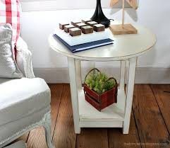 Habitat Side Table Feature Friday That U0027s My Letter Southern Hospitality