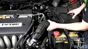 2003 2007 honda accord throttle body cleaning youtube