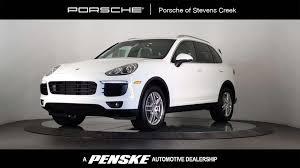 Porsche Cayenne White - 2016 used porsche cayenne awd 4dr at porsche of stevens creek