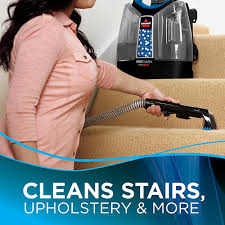 Carpet And Upholstery Cleaning Machines Reviews Spotclean Proheat Portable Carpet Cleaner 5207f Bissell