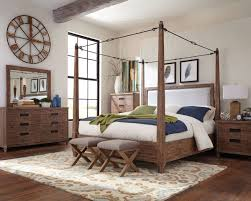 Canopy Bedroom Sets Donny Osmond Home Madeleine 203541 Solid Acacia Buckle Canopy Poster