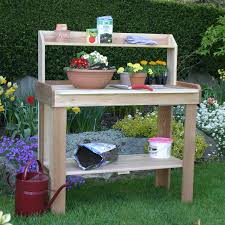 Inexpensive Potting Bench by Exterior Design Natural Potting Bench Design With Sink Support