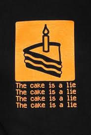 Cake Is A Lie Meme - the sad tale of hoopy the hoop portal amino