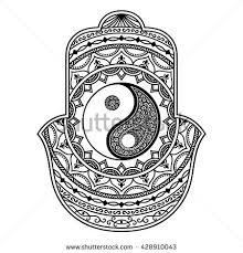 best 25 yin yang art ideas on pinterest gatos yin yang wolf