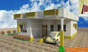 Beautiful Single Floor Home Design 785 Sq Ft